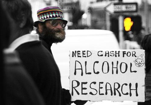 Need cash for alcohol research Picture Quote #1