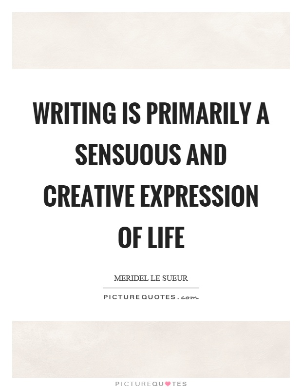 Creative writing quotes and sayings