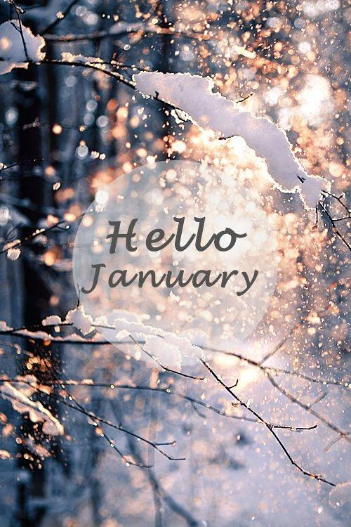 Hello January Picture Quote #1