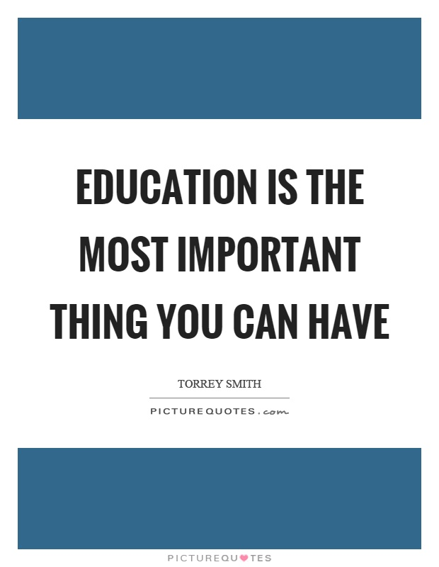 Education Important Quotes & Sayings | Education Important ...