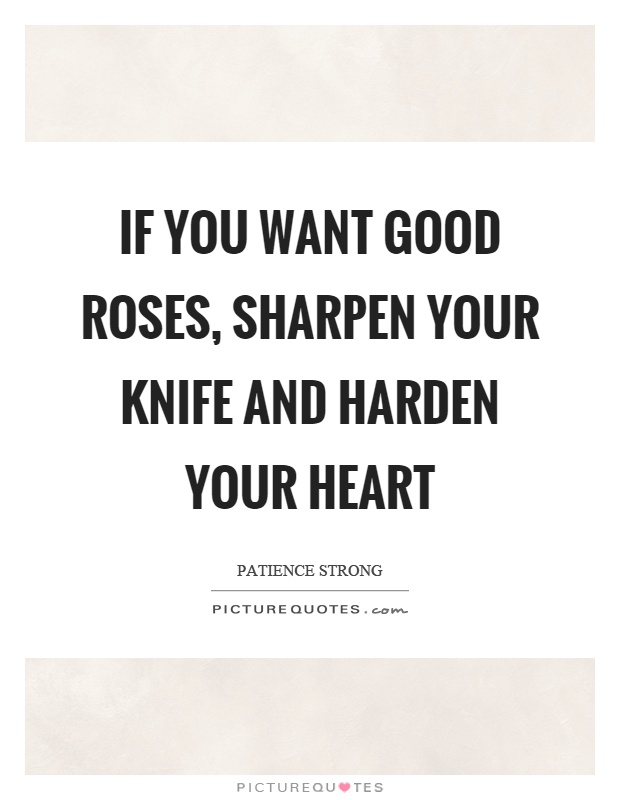 Knife heart quotes