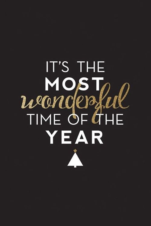 It's the most wonderful time of the year Picture Quote #1