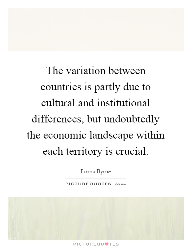 cultural differences between countries essay