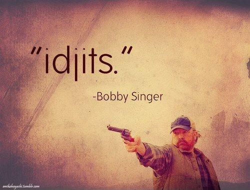 Idjits Picture Quote #1