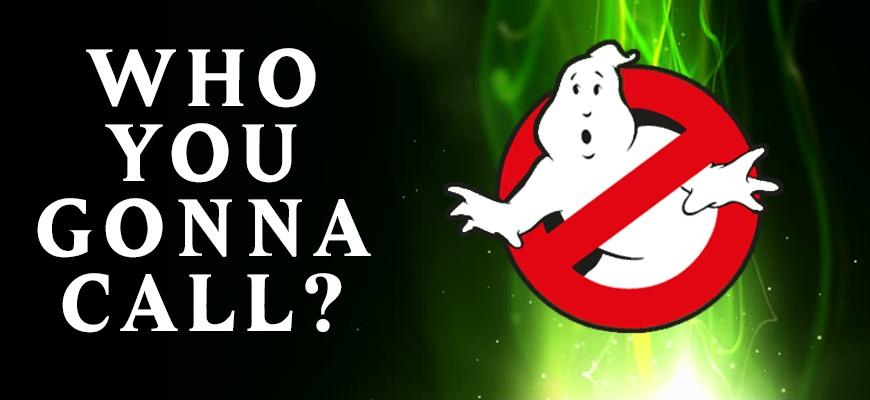Who are you gonna call? Ghostbusters Picture Quote #1