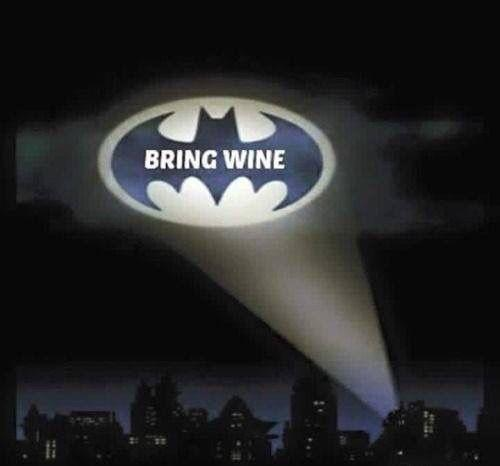 Bring wine Picture Quote #1