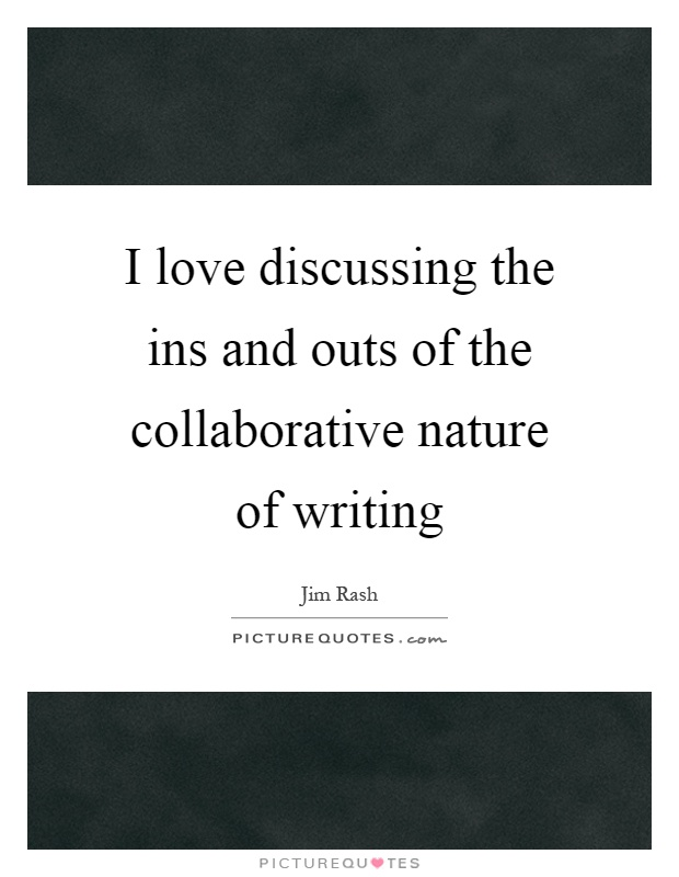 the nature of writing