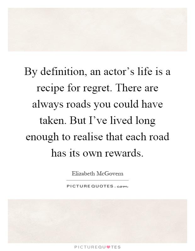Regret Definition