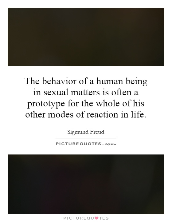 sigmund freud essay female sexuality Sigmund freud sigmund freud (1856-1939) his theories and treatments were to change forever our conception of the human condition sigmund freud was born in freiberg, moravia, a part of the austrian empire at that time, on may 6, 1856.