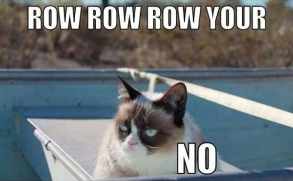 Row row row your.. no Picture Quote #1