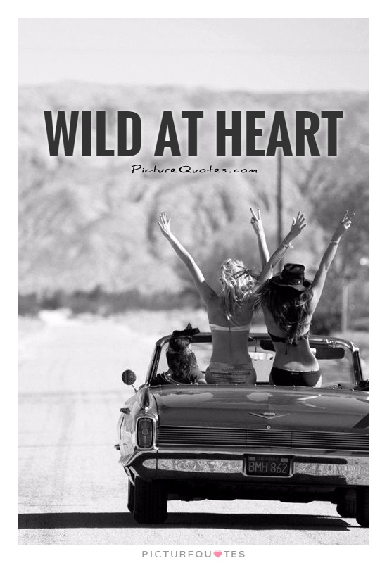 Wild at heart Picture Quote #1