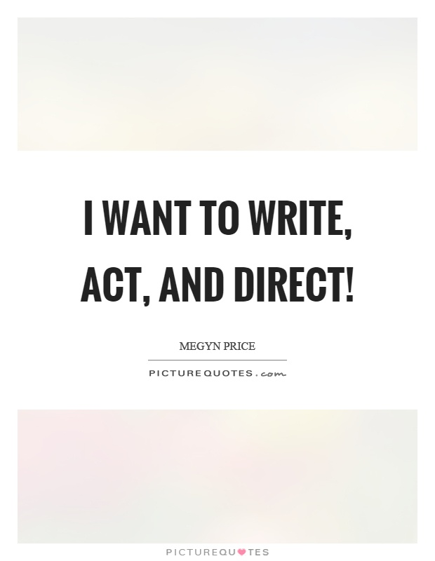 I want to write a will
