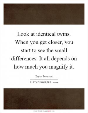 the special relationship between twins