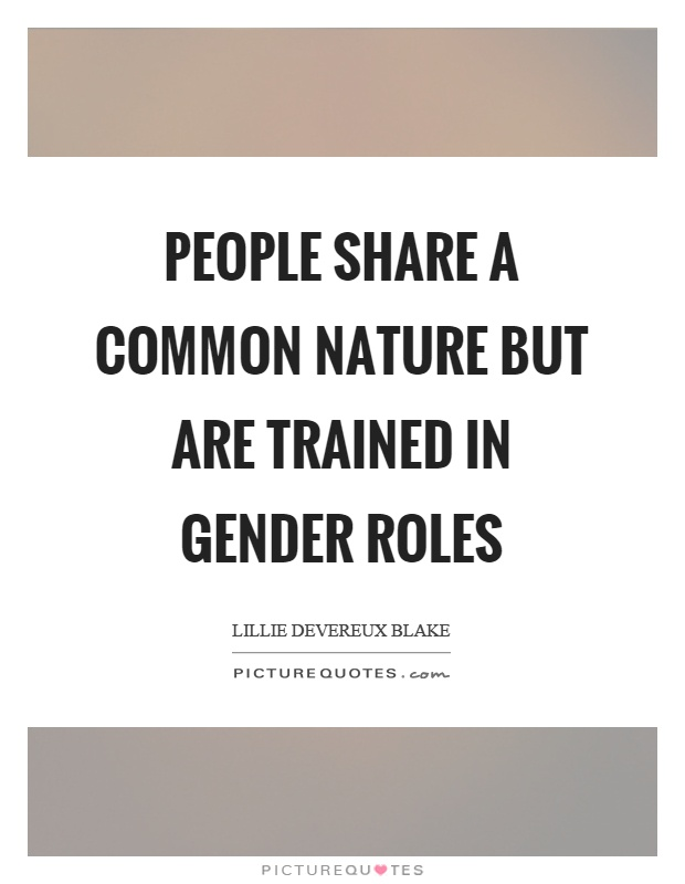Gender Quotes | Gender Sayings | Gender Picture Quotes