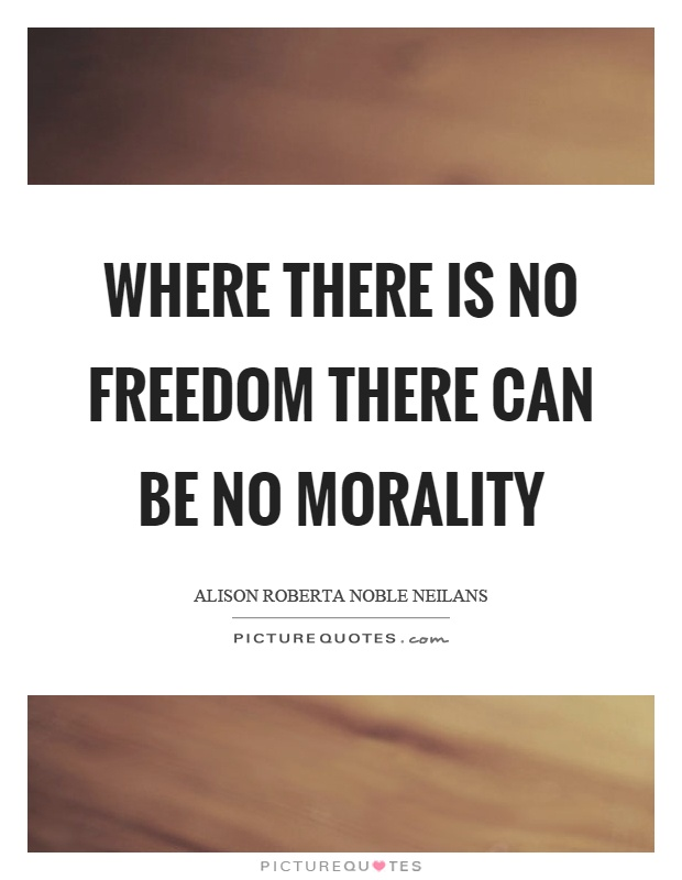 can one be moral and not Now, i was not debating whether one can have morals if they believe in god, but rather if god exists i am not denying the existence of moral codes in atheists i am not denying the fact that everyone knows right and wrong.