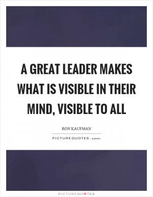 Great leaders gain authority by giving it away | Picture ...