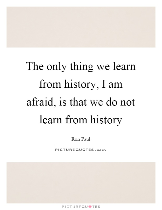 How Can We Learn from the Past If We Erase History? - The ...