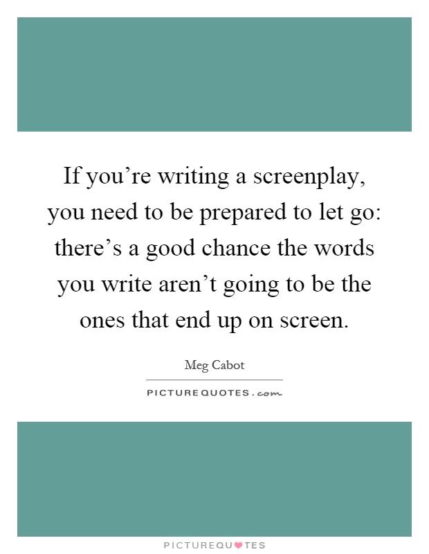 how to write a good screenplay pdf