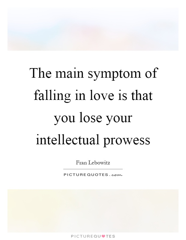 What are the signs of falling in love