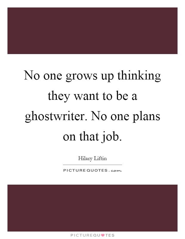 How to become a ghost writer