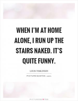 I D Rather Be Home Alone Painting Picture Quotes