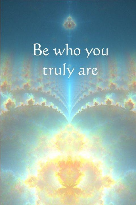 Be who you truly are Picture Quote #1