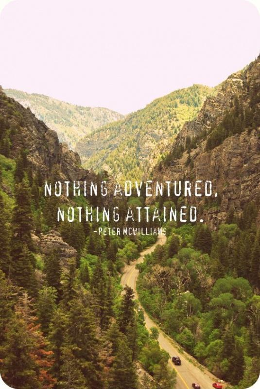 Nothing adventured, nothing attained Picture Quote #1