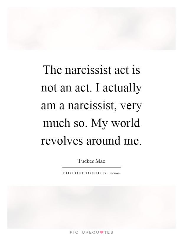 I am not a narcissist