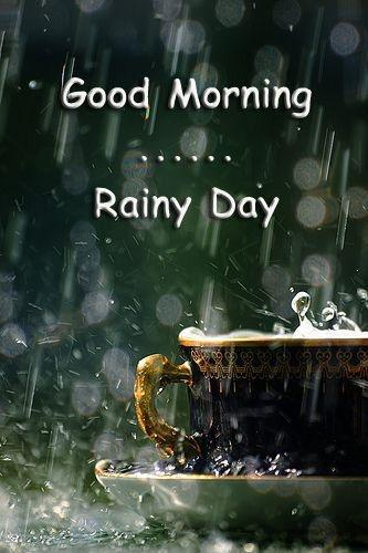 Good morning rainy day Picture Quote #1