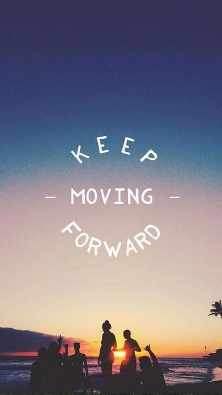 Keep moving forward Picture Quote #2
