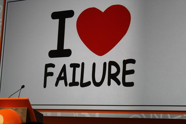 I love failure Picture Quote #1