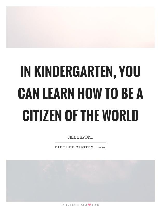 Kindergarten Teacher Sayings Just B Cause