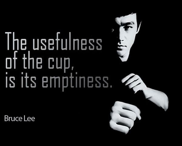 The usefulness of the cup, is it's emptiness Picture Quote #1