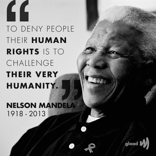 To deny people their human rights is to challenge their very humanity Picture Quote #1