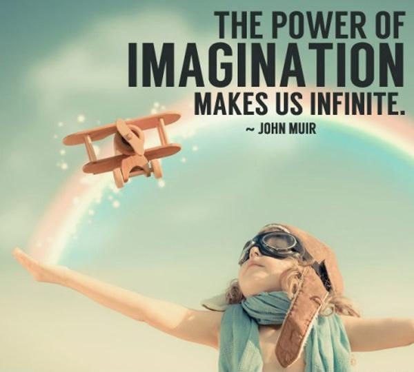 The power of imagination makes us infinite Picture Quote #1