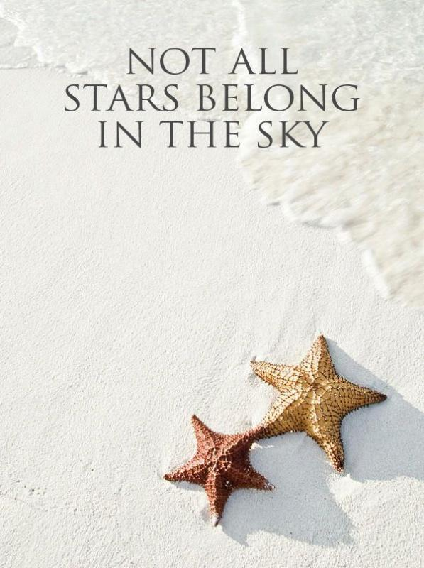 No all stars belong in the sky Picture Quote #1