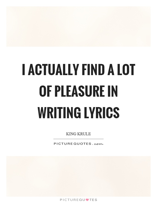 Quote lyrics in an essay