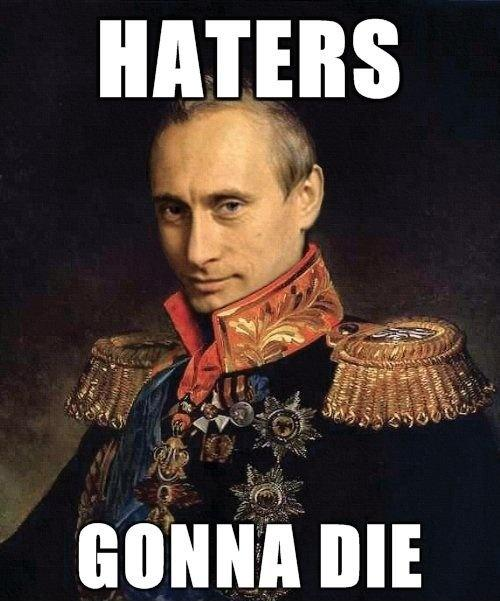 Haters gonna die Picture Quote #1