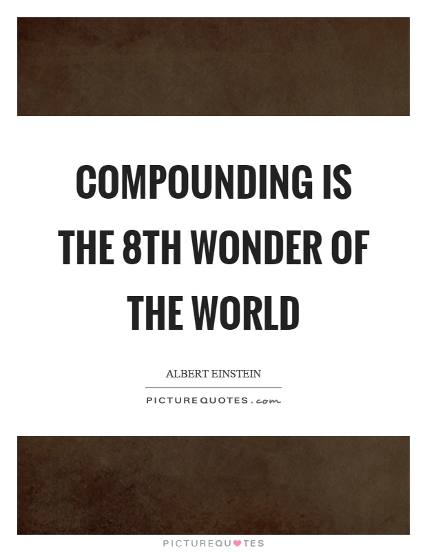 Compounding is the 8th wonder of the world Picture Quote #1