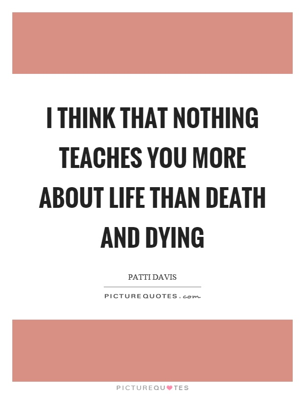 death dying This compendium of resources on death and dying has been compiled by our volunteers meesh rheault miller and jim hill nonfiction memoirs fiction magazine/newspaper articles film/video.