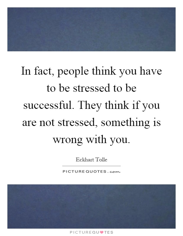 how to not get stressed by people