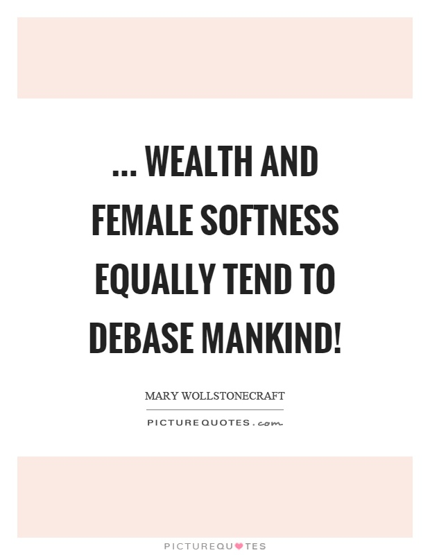 Mary Wollstonecraft Quote?