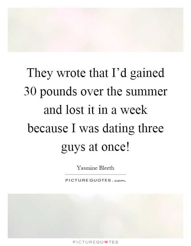 Dating over 30 quotes