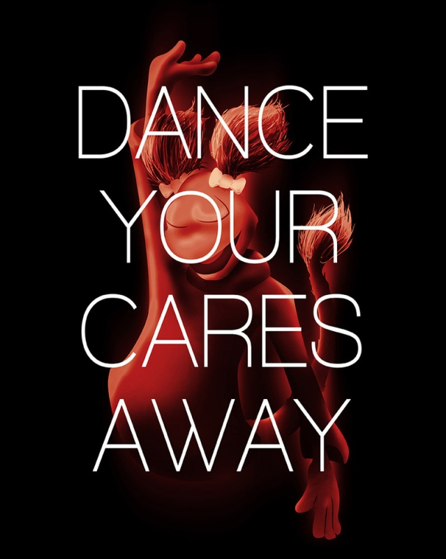 Dance your cares away Picture Quote #1