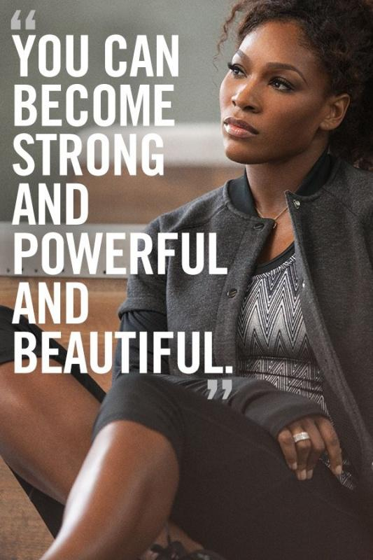 You can become strong and powerful and beautiful Picture Quote #1