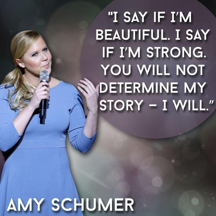 I say if I'm beautiful. I say if I'm strong. You will not determine my story - I will Picture Quote #1