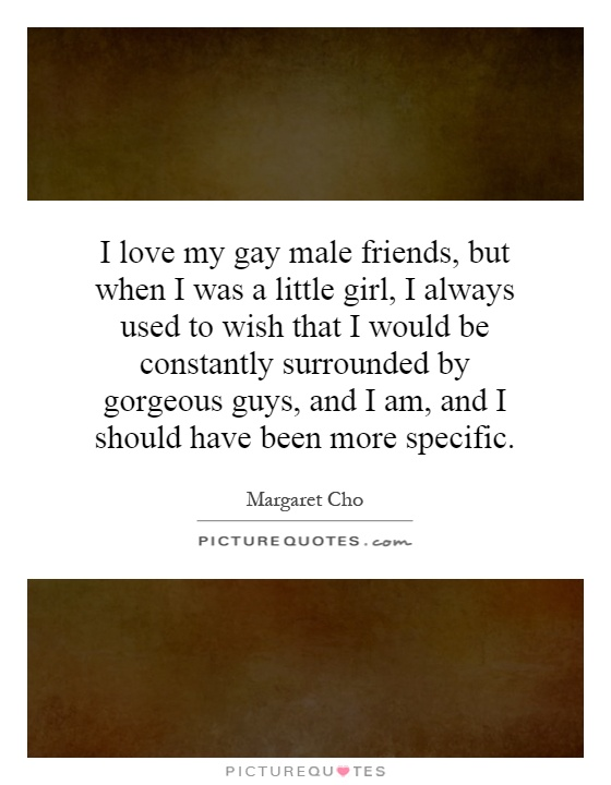 i love my gay guy friend
