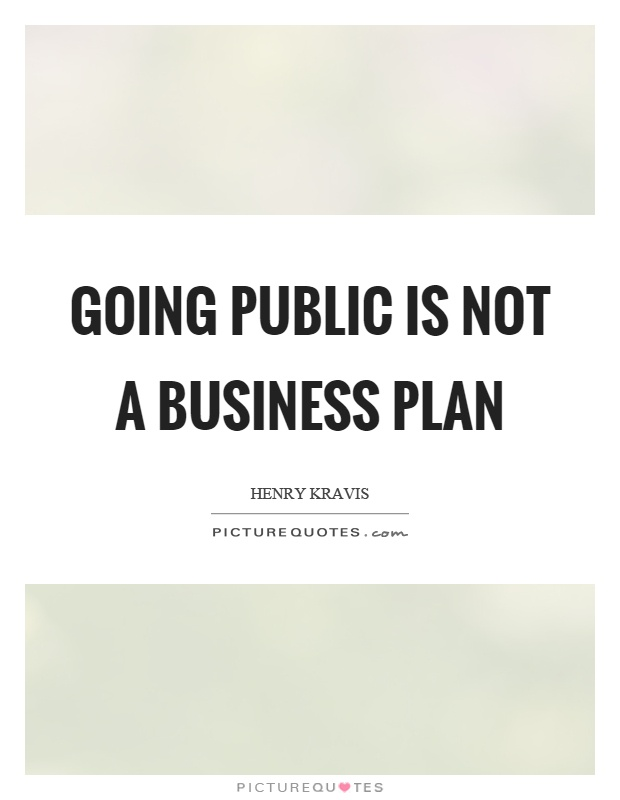 Business planning quotes