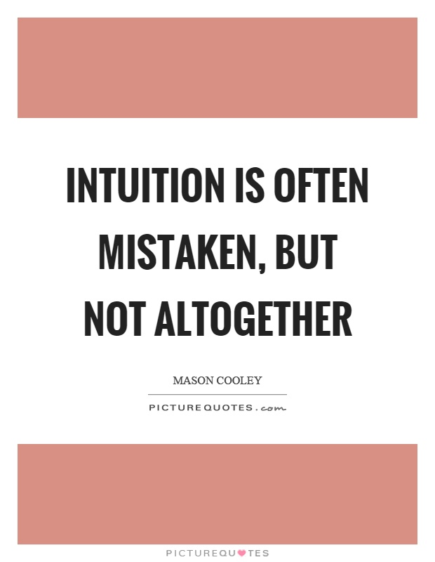 how to use your intuition more