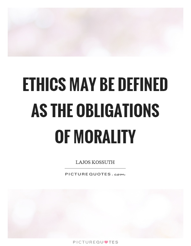 ethics cannot be defined Definition of ethics - moral principles that govern a person's behaviour or the conducting of an activity, the branch of knowledge that deals with moral.